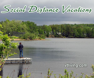 Social distancing vacations activities in New England