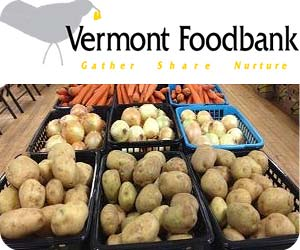 Vermont Foodbank Gather share nurture Feed America