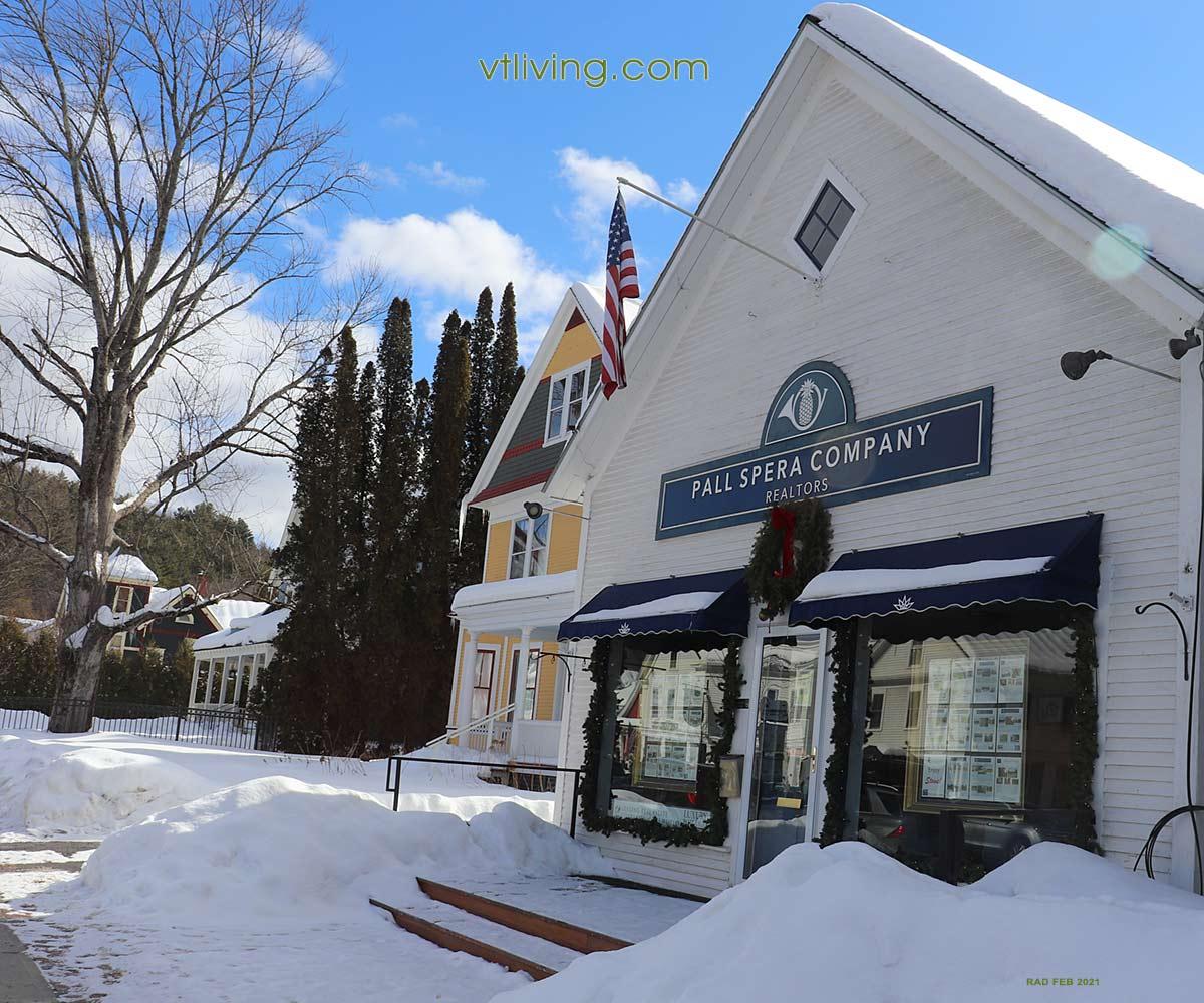 Stowe Village Vermont
