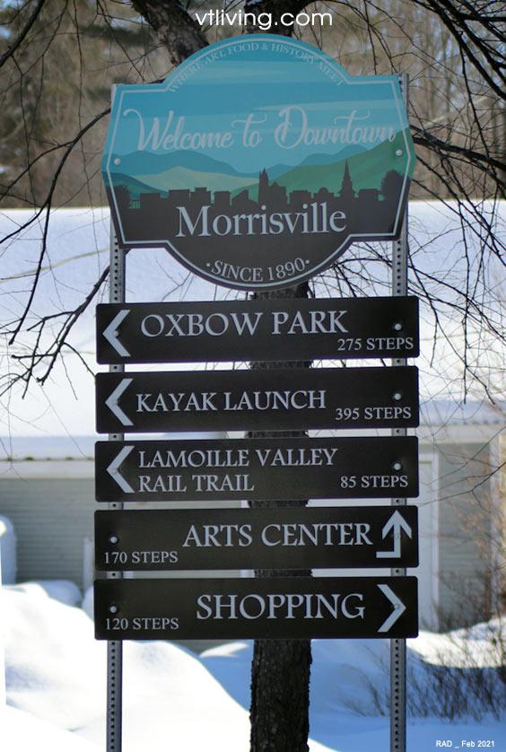 Downtown Morrisville Vermont